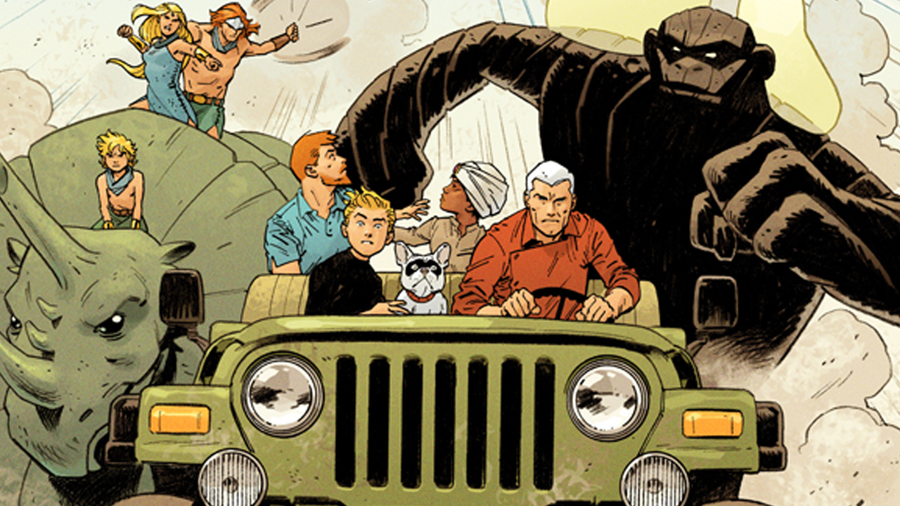Future Quest by Doc Shaner and Jeff Parker