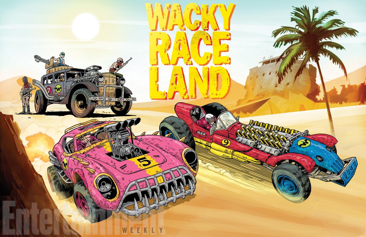 Mark Sexton & Ken Pontac are the minds behind Wacky Race Land