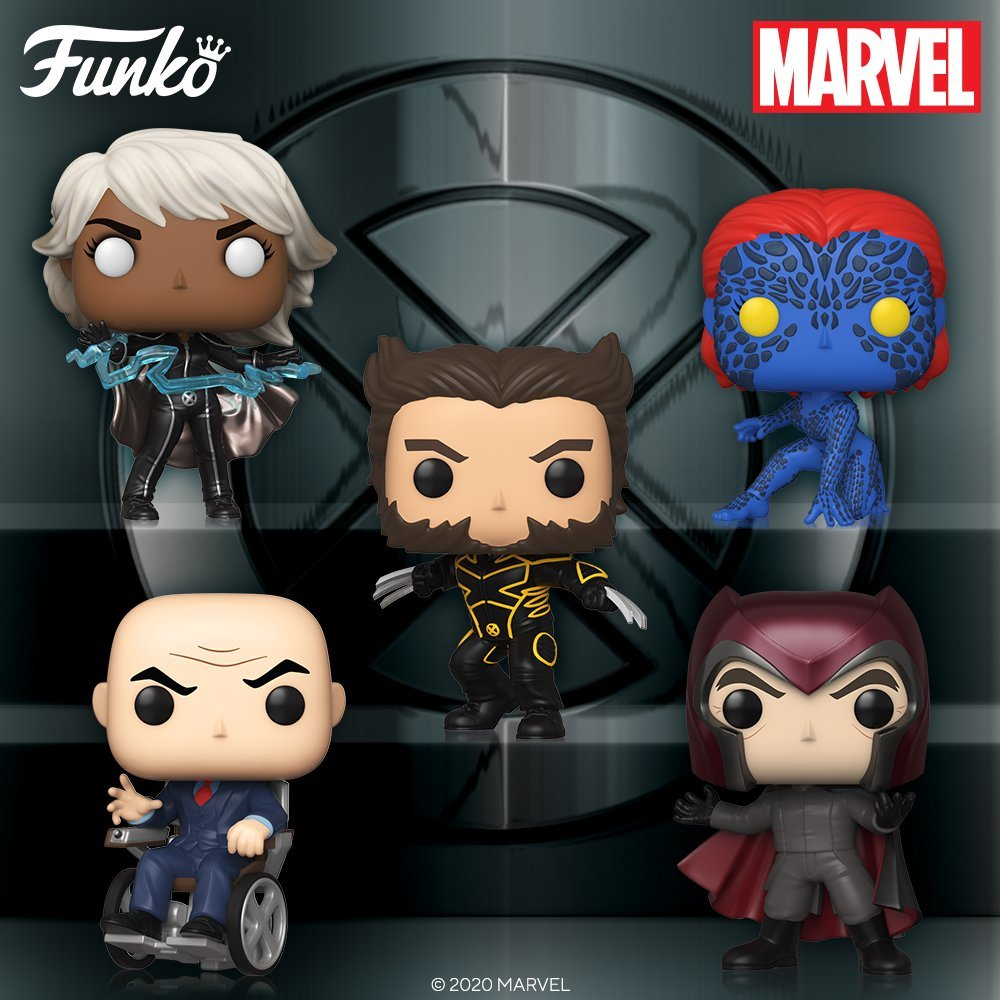 X-Men 1 Funko Pops