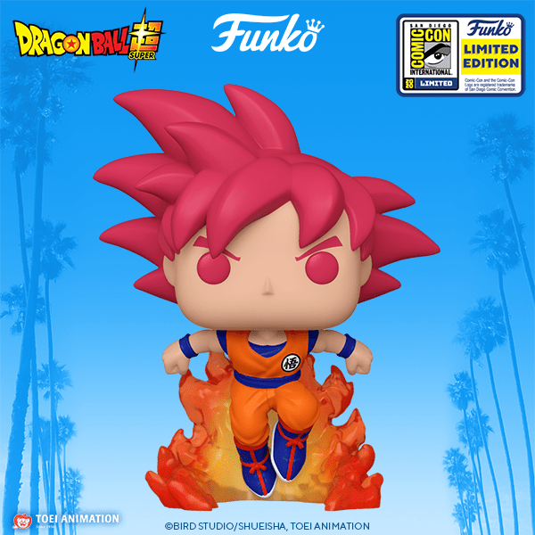 This Dragon Ball Pop wants to fight you
