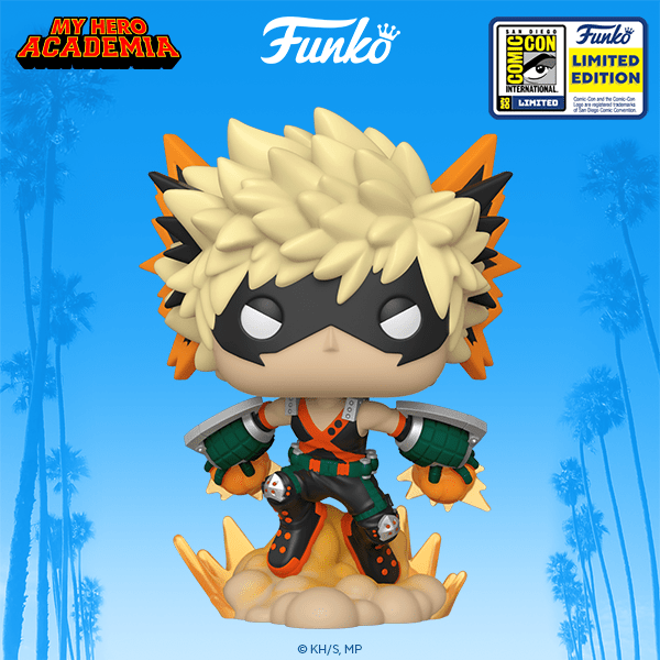 This MHA Funko Pop also wants to fight you