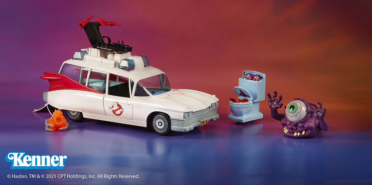 Ghostbusters Kenner Classics available at Walmart