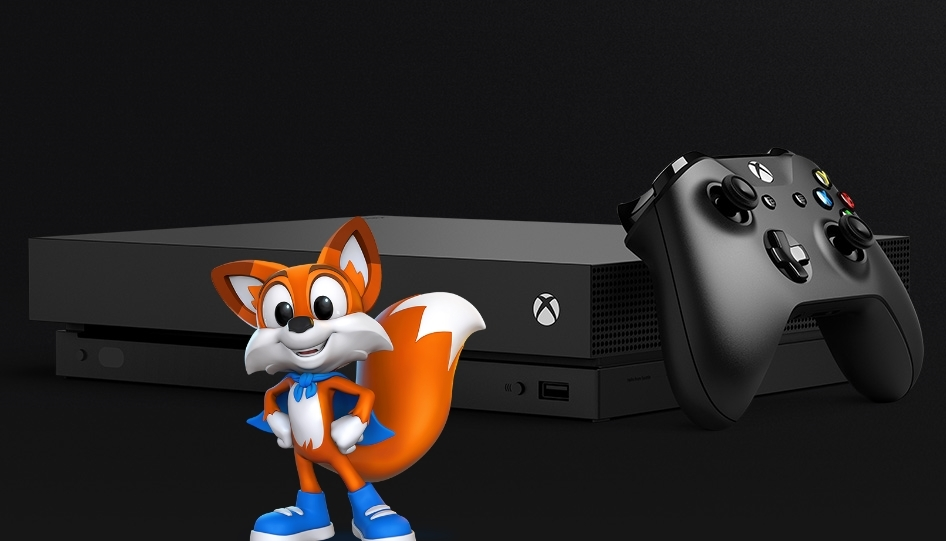 Playful's Super Lucky's Tale will release alongside the Xbox One X.