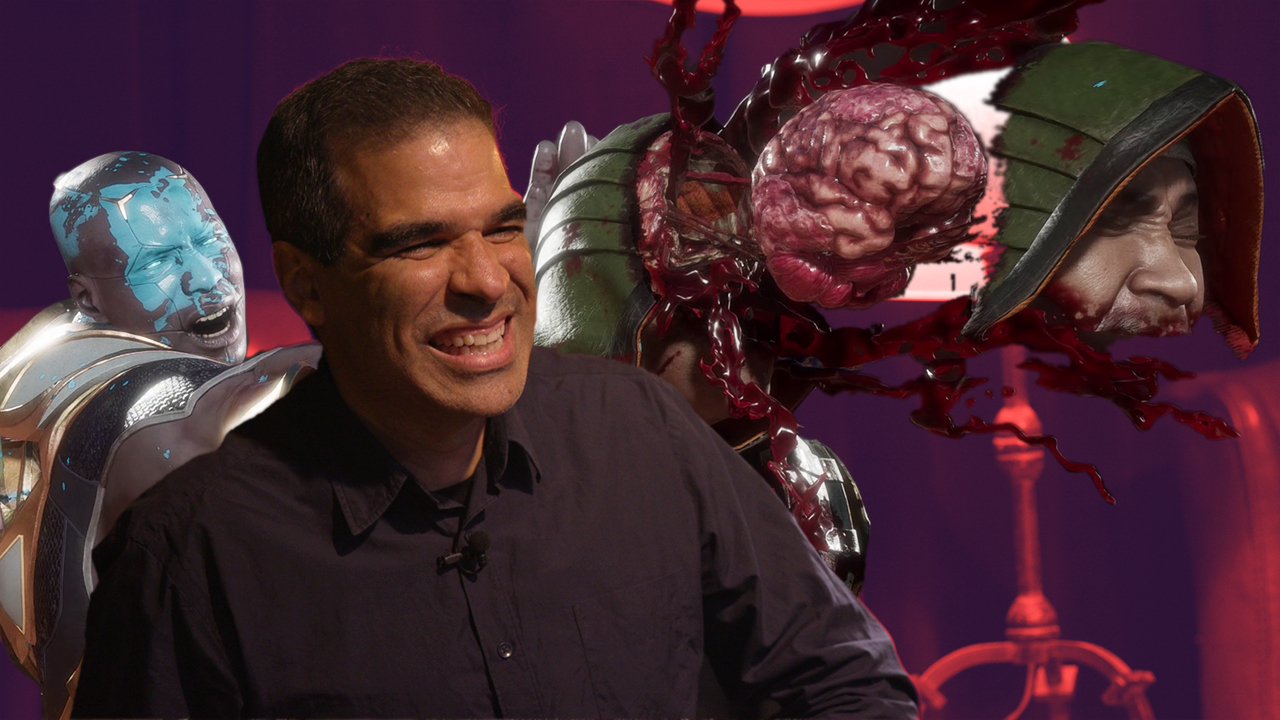 Ed Boon tells us fatalities are born out of meetings with the NetherRealm team. They have quite the imagination.
