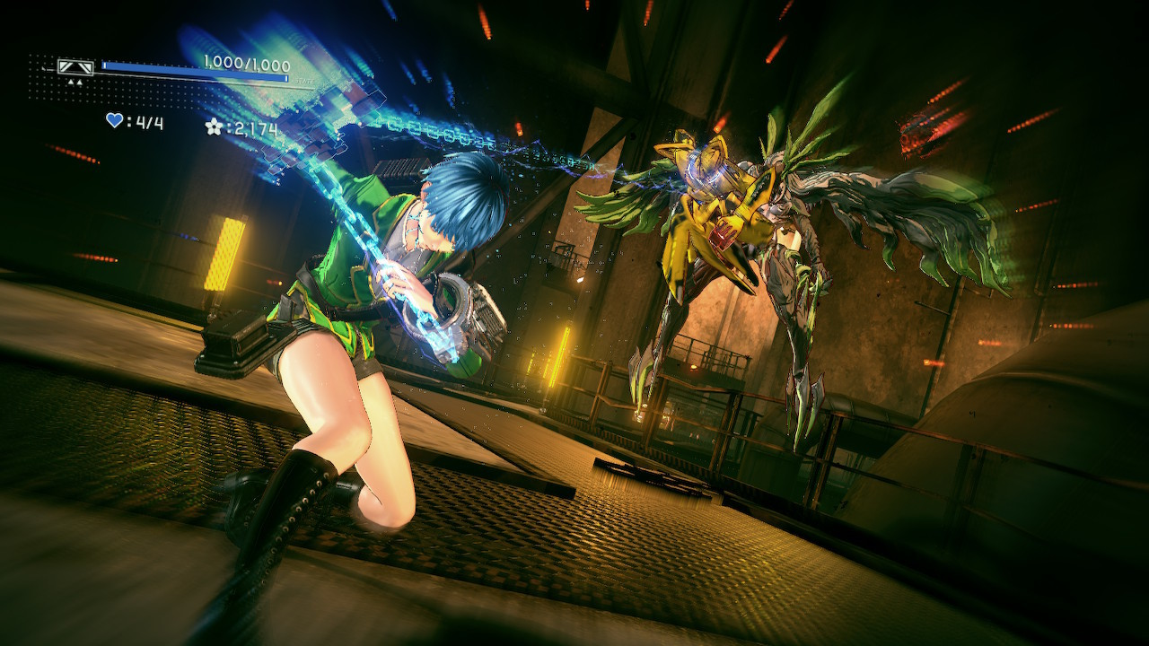 Astral Chain's sense of style bursts at the seams with each battle.