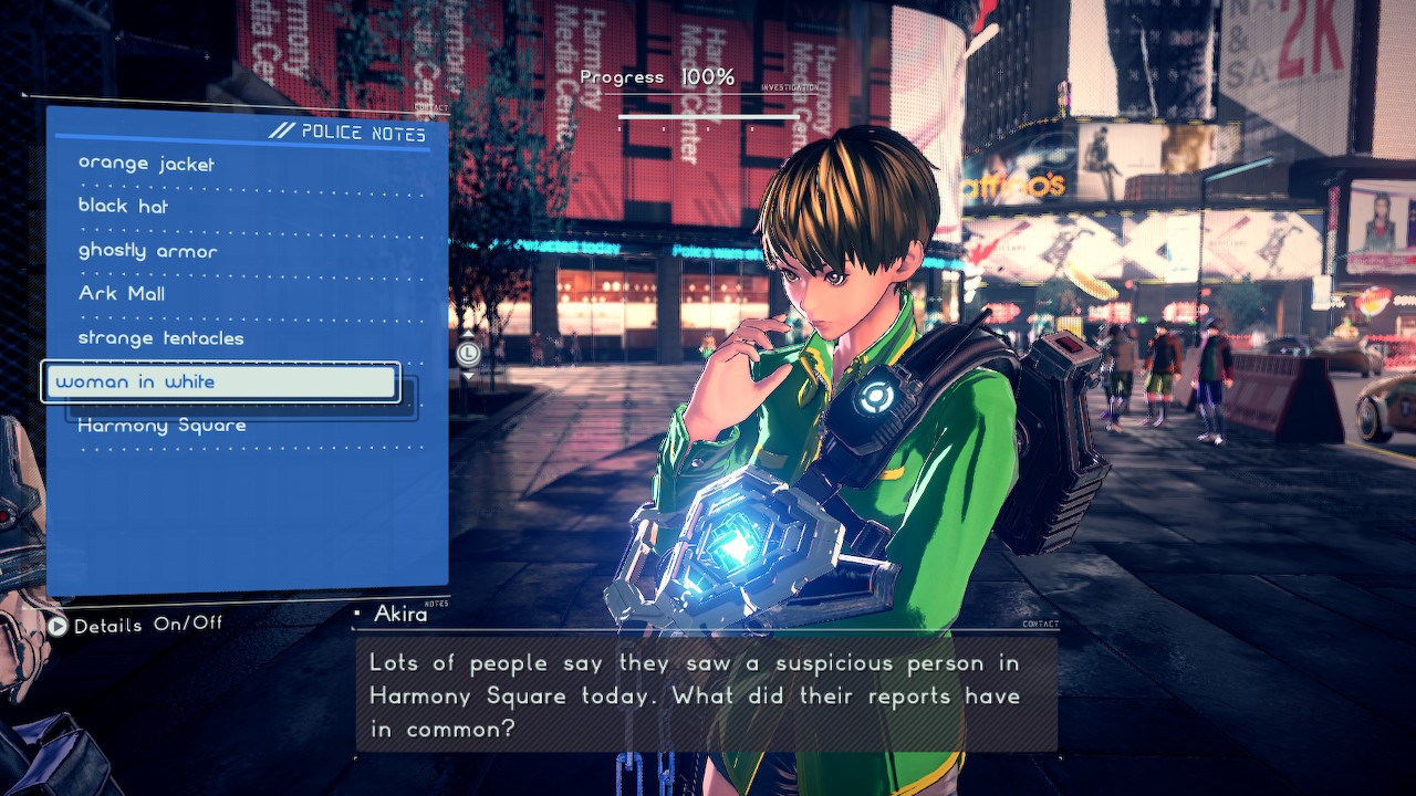 Investigation is just one way Astral Chain breaks up the pace.