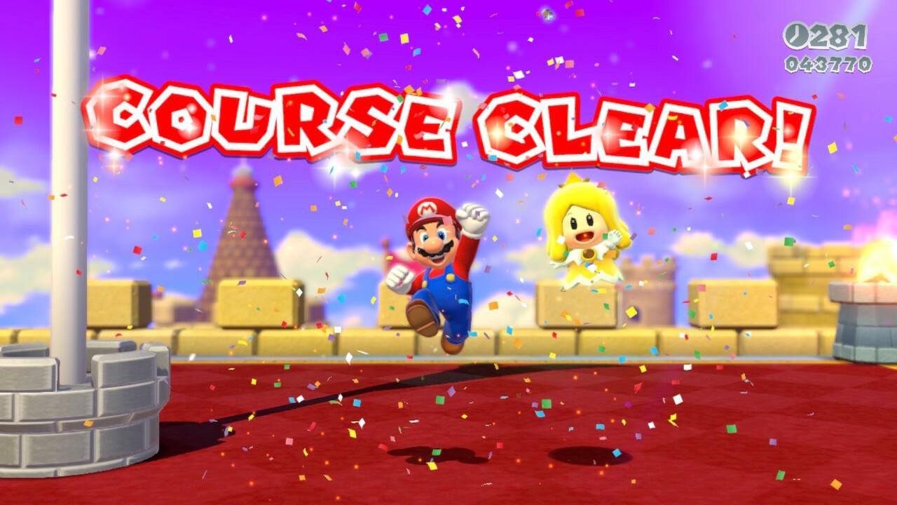 Super Mario 3D World on Nintendo Switch