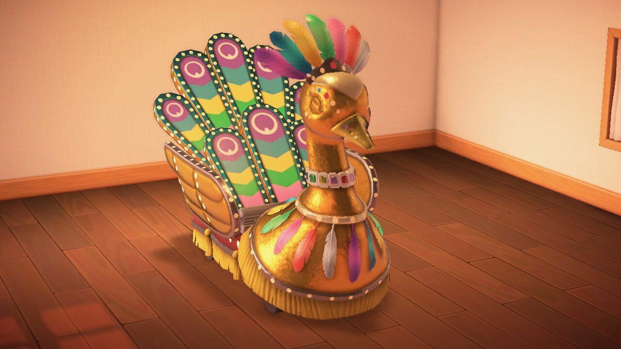 The Festivale float in Animal Crossing: New Horizons.