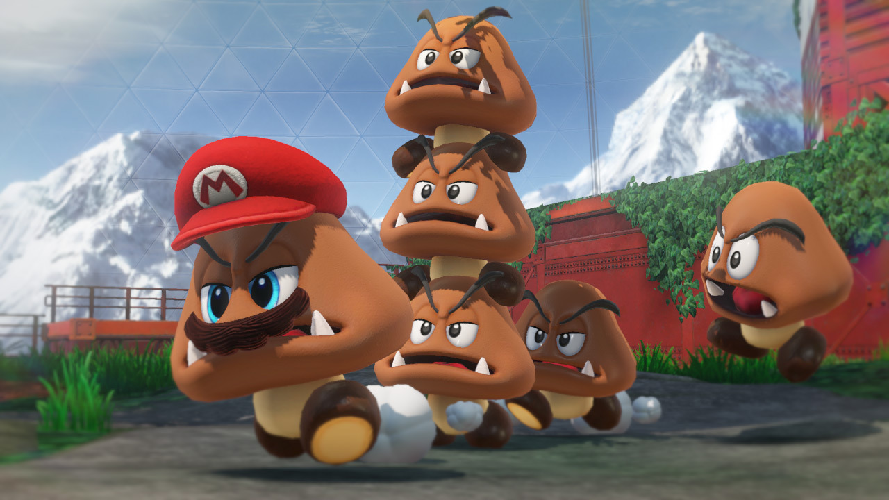 Super Mario Odyssey is among the nominees for Game of the Year
