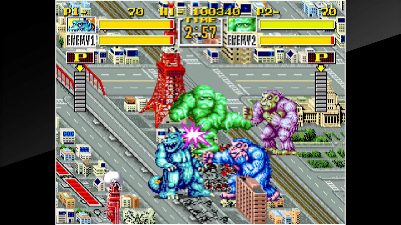ACA Neo Geo King of the Monsters