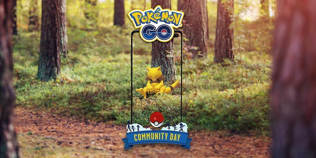 April's featured Pokemon, Abra