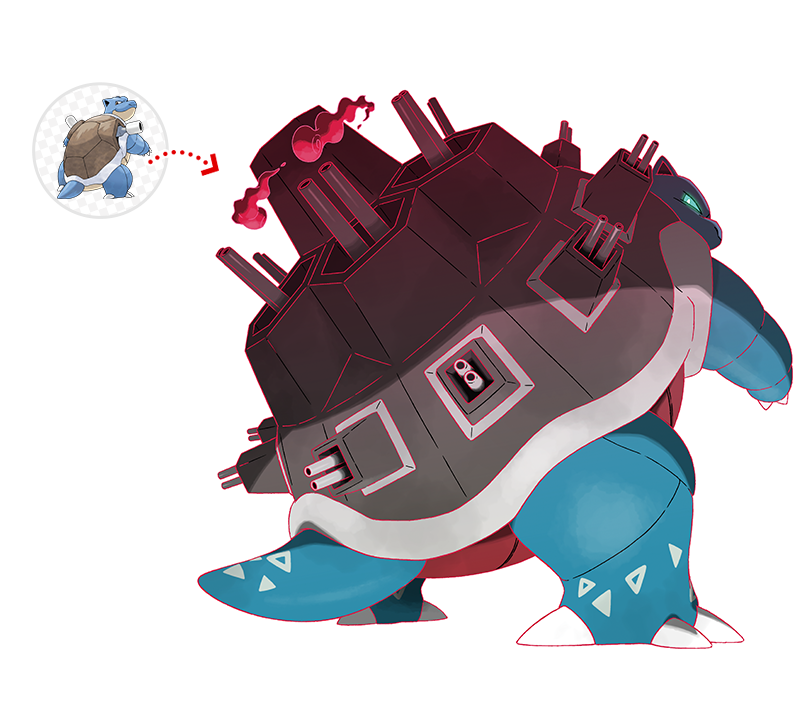 Gigantamax Blastoise