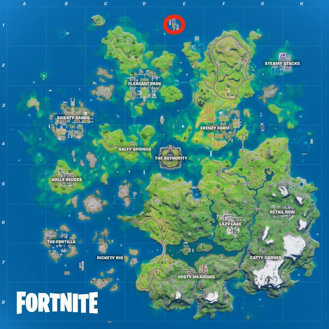 The Yacht location