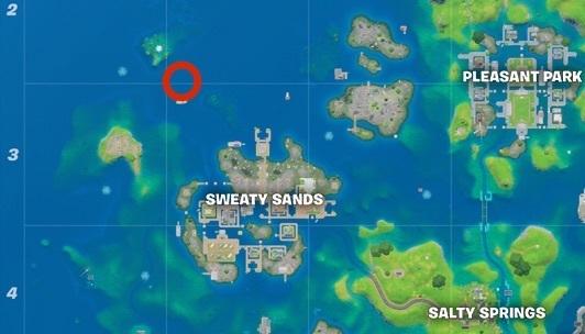 Aquaman Trident location map
