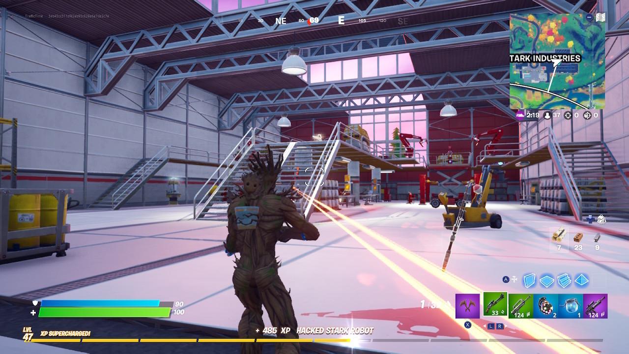 Stark Robots hangar