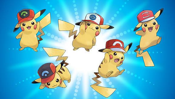 Ash cap Pikachu