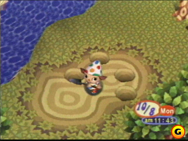 The original Animal Crossing on Nintendo 64