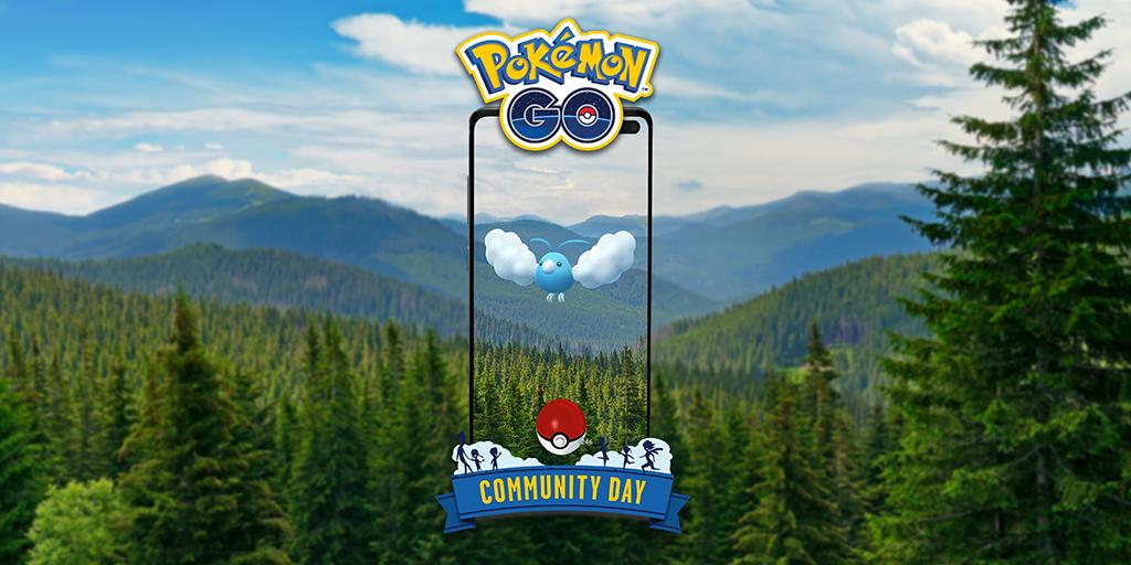 May's featured Pokemon, Swablu