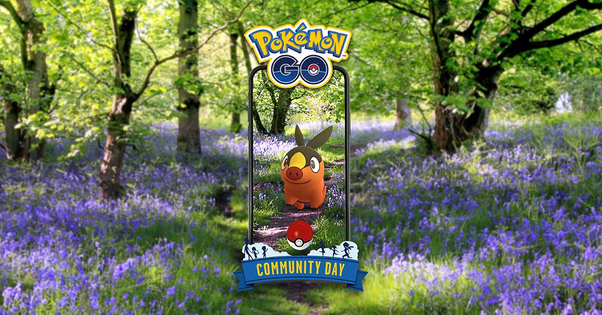 Pokémon apresentado em julho, Tepig
