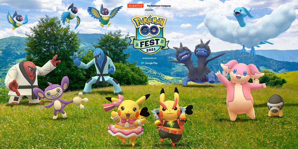 Pokemon Go Fest Day 1 Guide: Rotating Habitats, Ultra Unlocks, Raids, And More