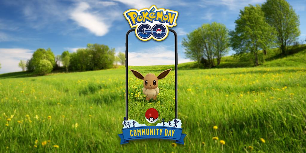 August's featured Pokemon, Eevee