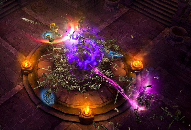 Diablo and Diablo II first popularized the idea of a color-coded, rarity-based loot system in games--something that has become ubiquitous in RPGs, MMOs, and even action games and first-person shooters.