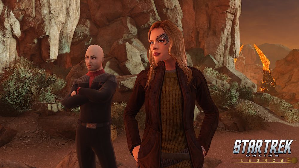 Ryan returns to the role of Seven of Nine in Star Trek Online's latest expansion.