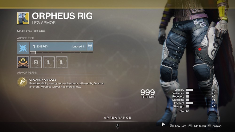 Orpheus Rig is great for big PvE fights, allowing you to get your Super and abilities back quickly.
