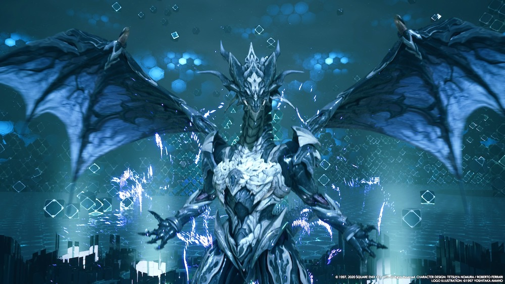 The VR version of Bahamut is a fast, deadly foe whose Mega Flare ultimate will likely wipe your team without barriers. Try to stagger Bahamut to prevent it altogether.
