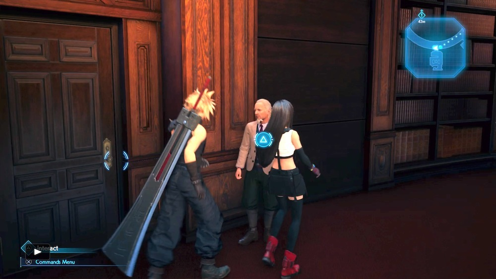 Hart wants a bribe. You should give it to him--it'll also buy you Barret's final weapon.