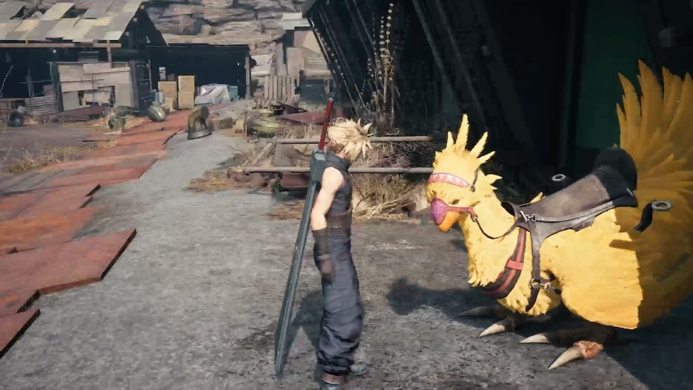 You're hunting three chocobos scattered around Sector 5, but to rescue two of them, you'll have to fight tough enemies.