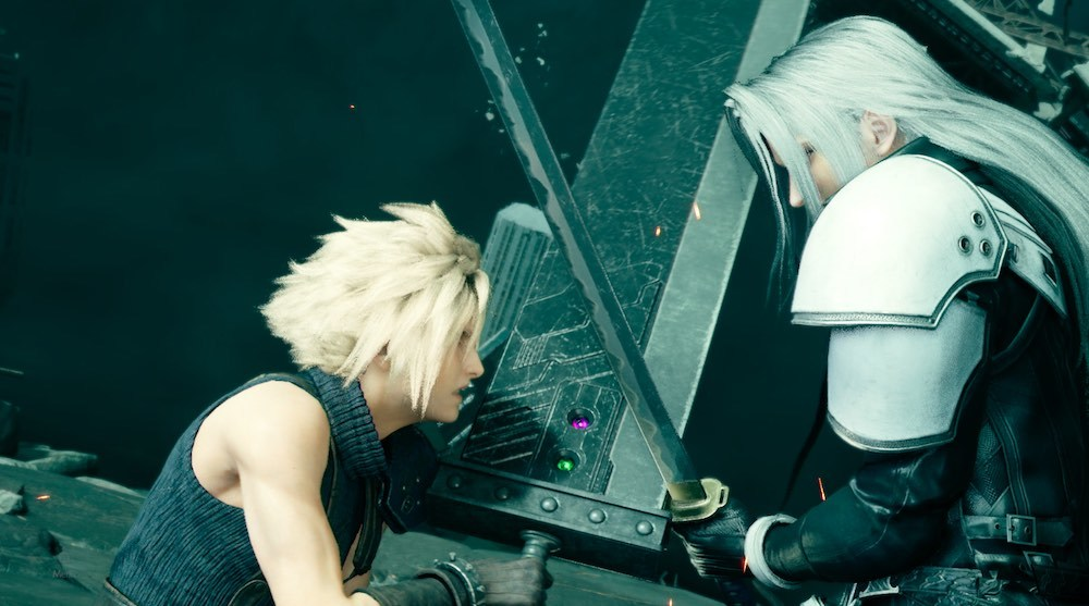 Pressure and stagger Sephiroth by blocking his attacks and using Punisher mode counterattacks.