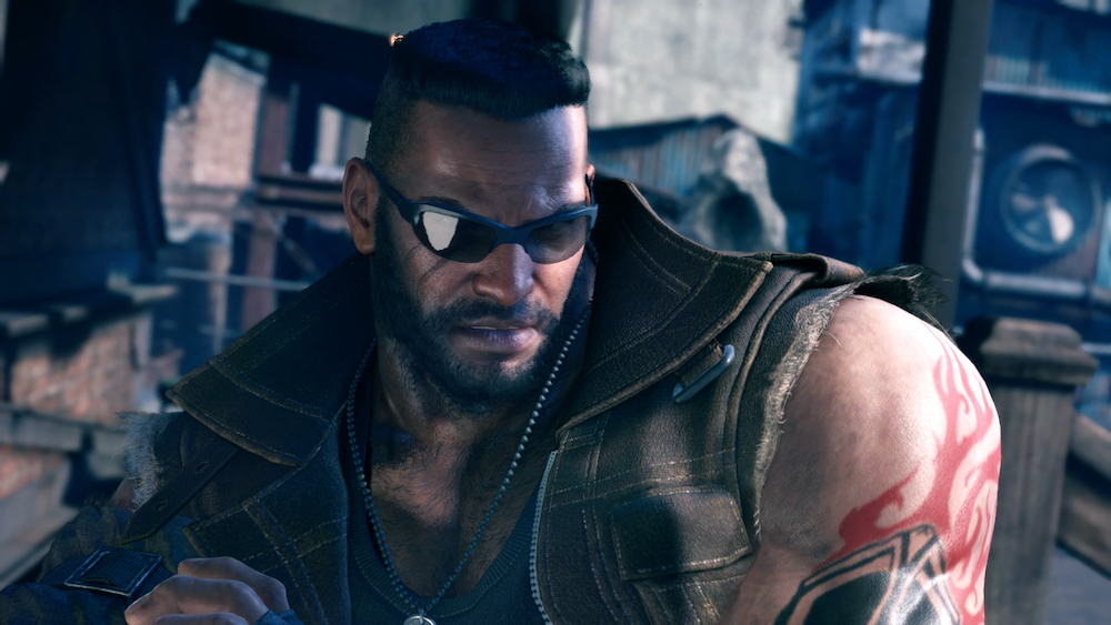 Even characters that become iconic, like Barret from Final Fantasy 7 (seen here in the remake), often are very stereotypical.