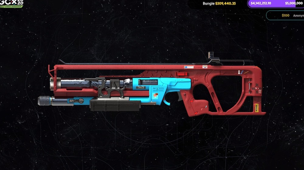 This Legendary weapon will also pop up in Beyond Light, with a Europa-inspired color scheme.