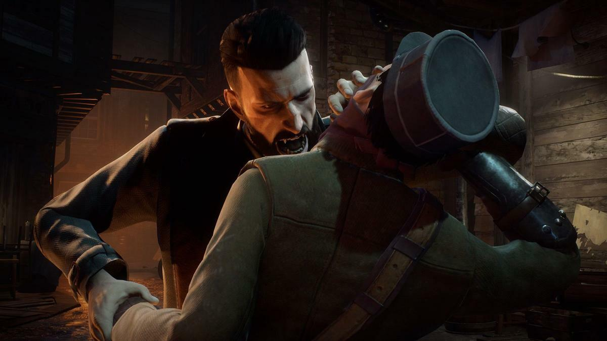 Vampyr's protagonist Jonathan embodies the good vs. evil struggle in players--he struggles with his desire to good as a doctor and his need to feed on blood as a newly-turned vampire.