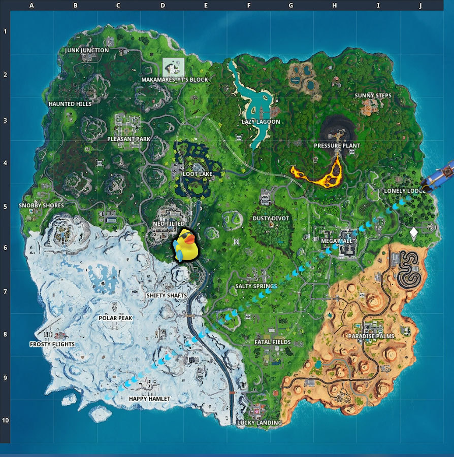 Why Are There Ducks In Fortnite What S The Deal With Fortnite S Giant Rubber Duck Gamespot