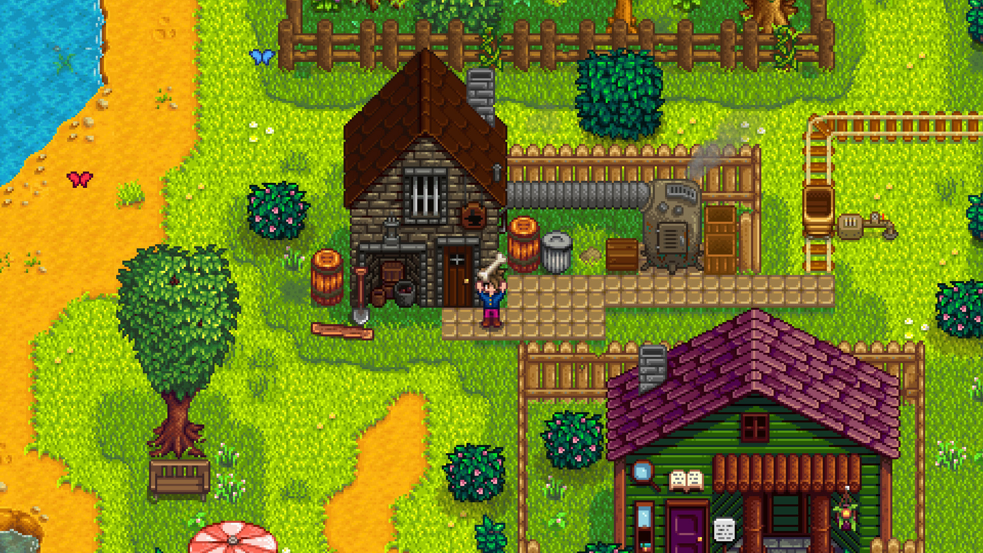 Stardew Valley 1 5 Update Out Now Lets You Own A Beachfront Farm Gamespot