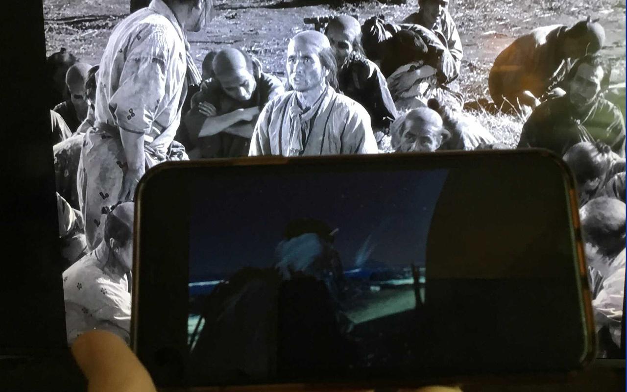 Ghost of Tsushima: Director's Cut and Seven Samurai, a perfect combination