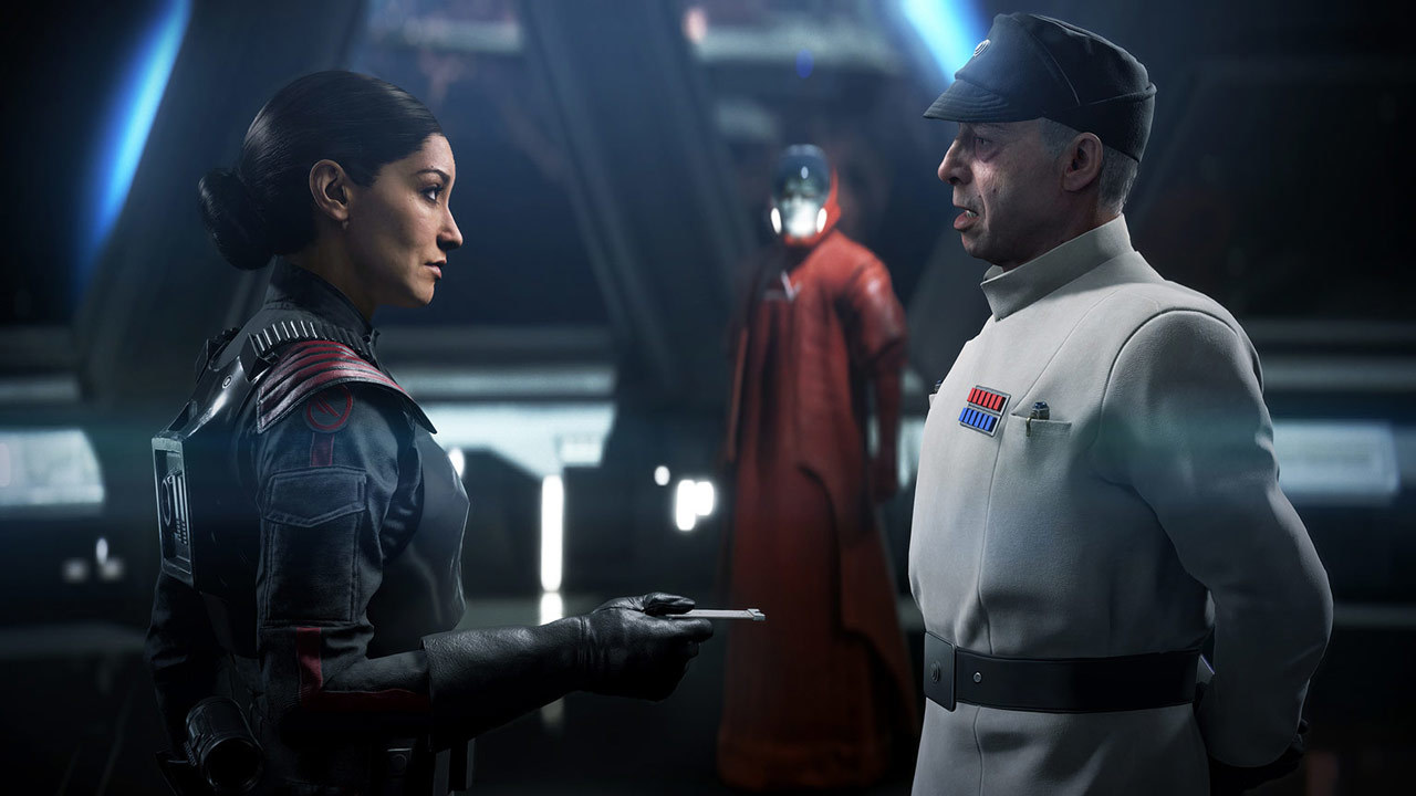 Iden Versio is one of the infamous Imperial traitors mentioned in Star Wars: Squadrons--her decision to leave the Empire plays out in Battlefront II.
