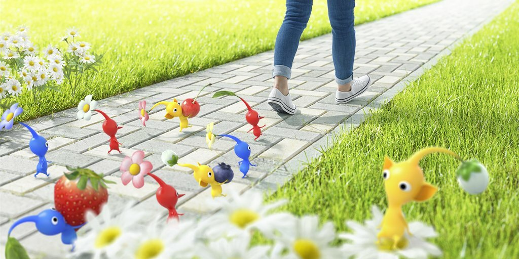 I wonder how large of a Pikmin army you'll be able to build in this game.