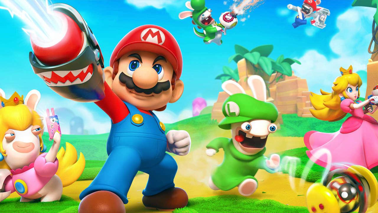 Mario + Rabbids Kingdom Battle - on sale for $20 (was $60) at GameStop
