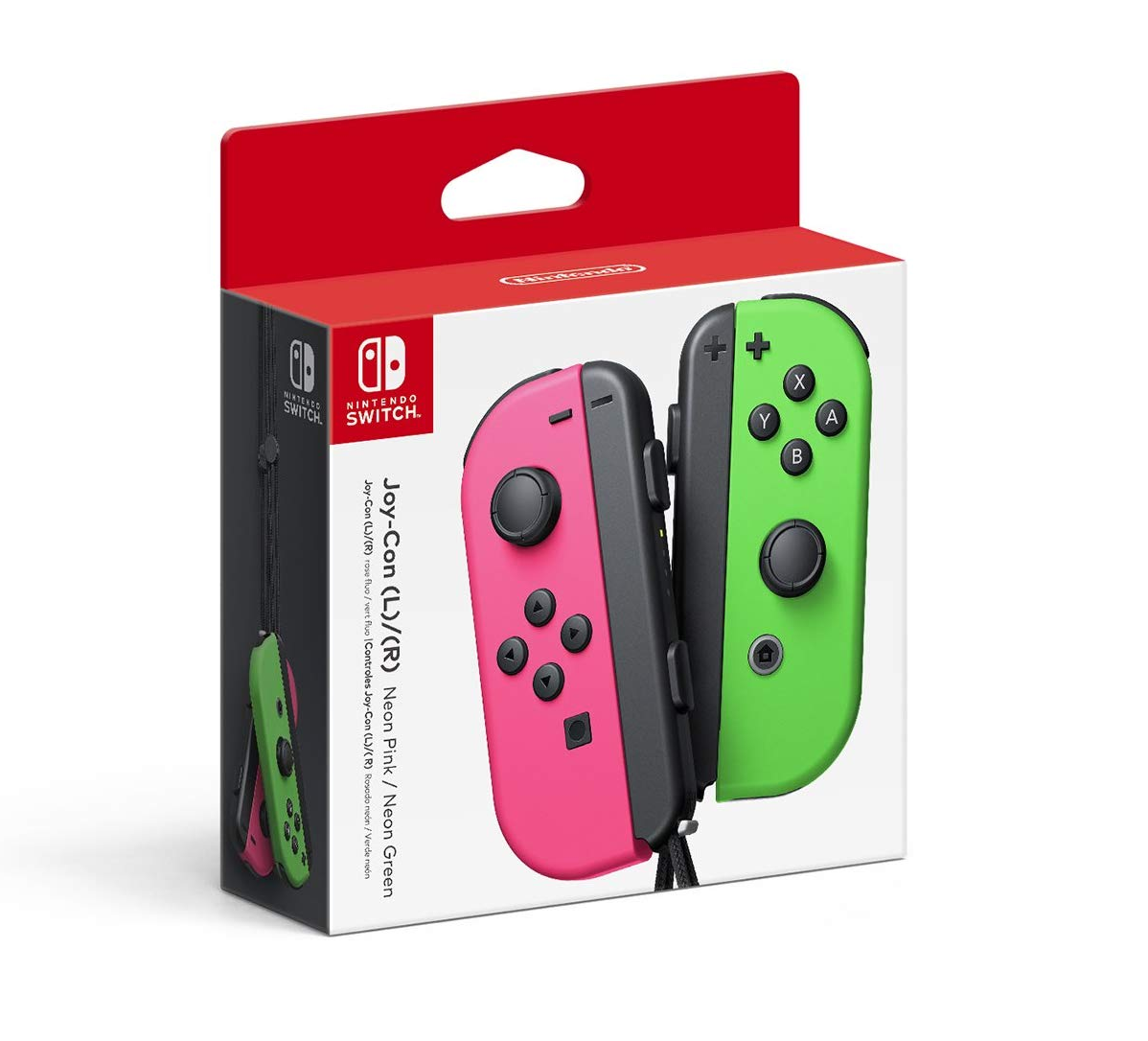 Joy-Cons (various colors) - on sale for $60 (was $80) at Amazon
