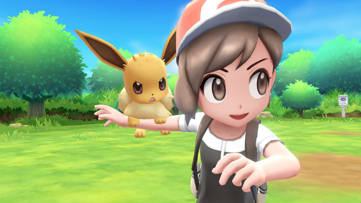 Pokemon: Let's Go, Eevee - on sale for $30 (was $60) at Amazon