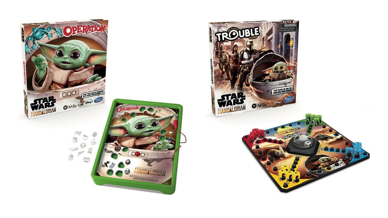 Baby Yoda is coming to classic board games like Operation and Trouble