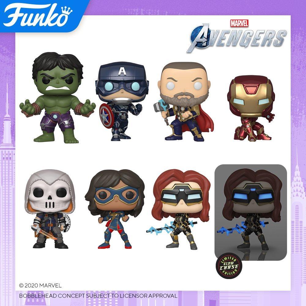 Marvel's Avengers (game) Funko Pops