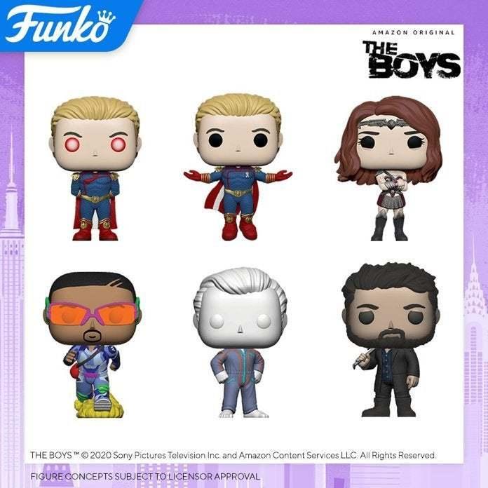 The Boys Funko Pops