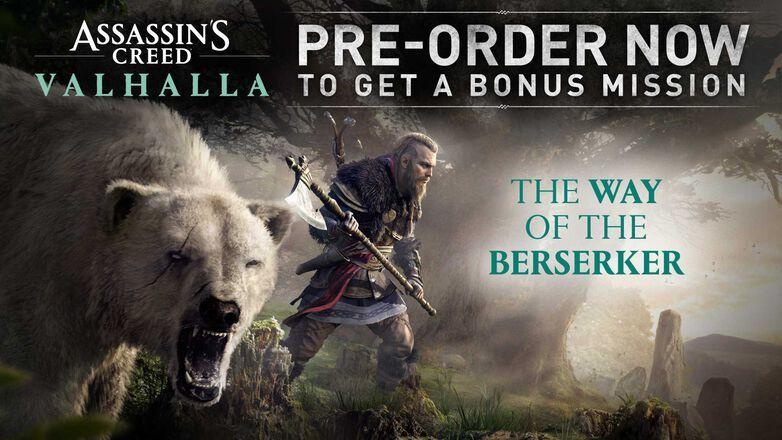 Assassin's Creed Valhalla preorder bonus
