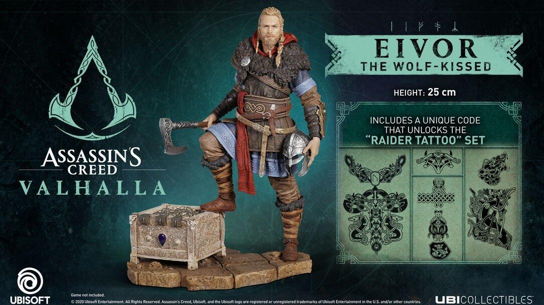 Eivor The Wolf-Kissed figurine