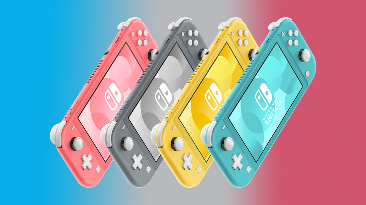 The Nintendo Switch Lite is available in four different colors.