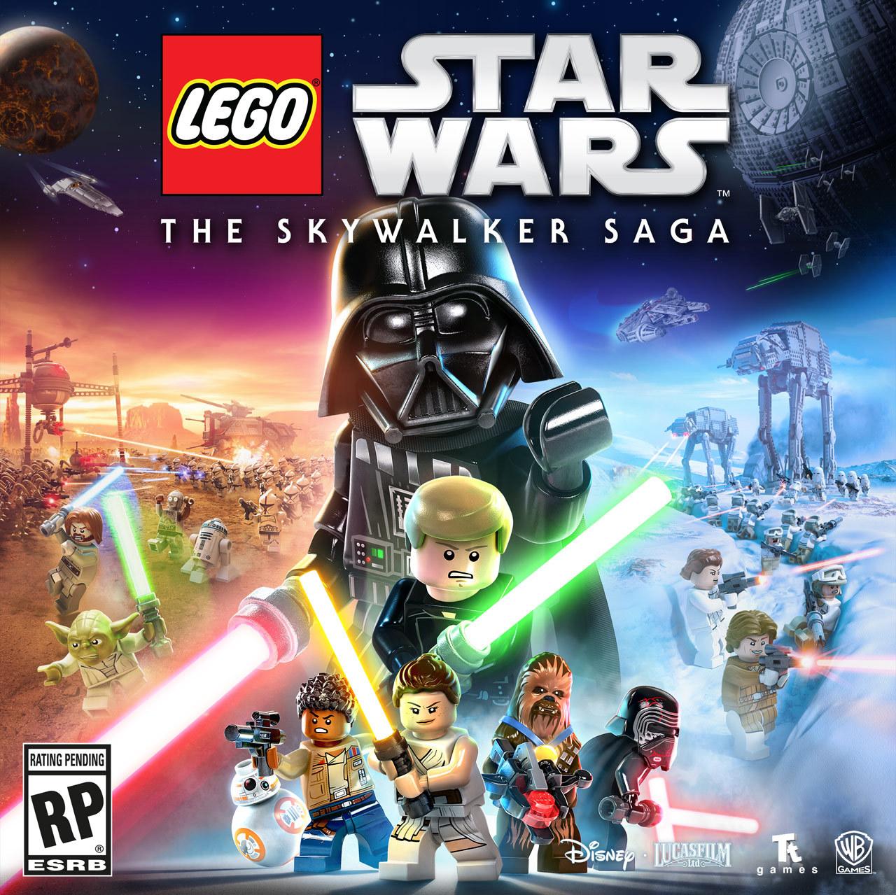 Official box art for Lego Star Wars: The Skywalker Saga